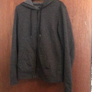 Gray Victoria's Secret hoodie